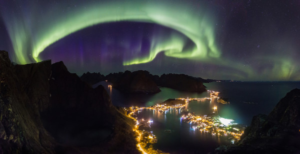 Norway magical northern lights