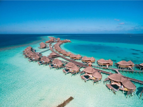 Le Maldive in un Isola
