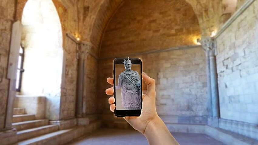 Castel del Monte diventa un HoloMuseum