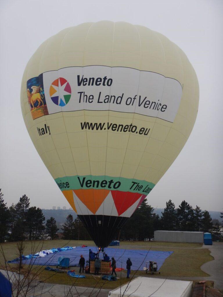 Il Veneto in Mongolfiera a Cortina