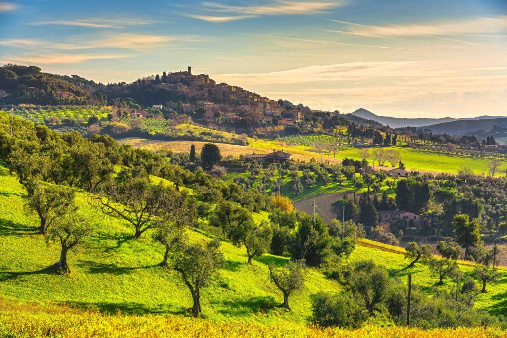 La Toscana mai Vista