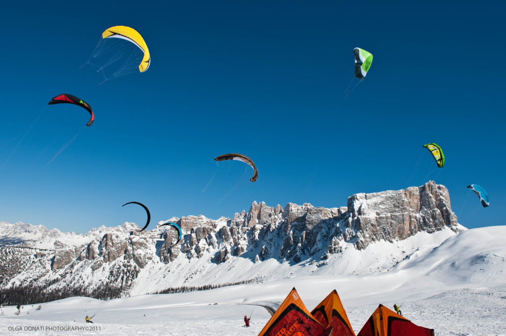 Cortina Snowkite Contest