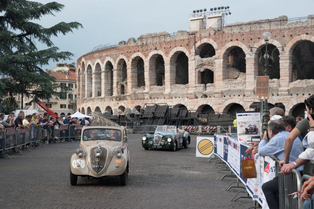 Verona tra Auto storiche e Festival dll'Arena