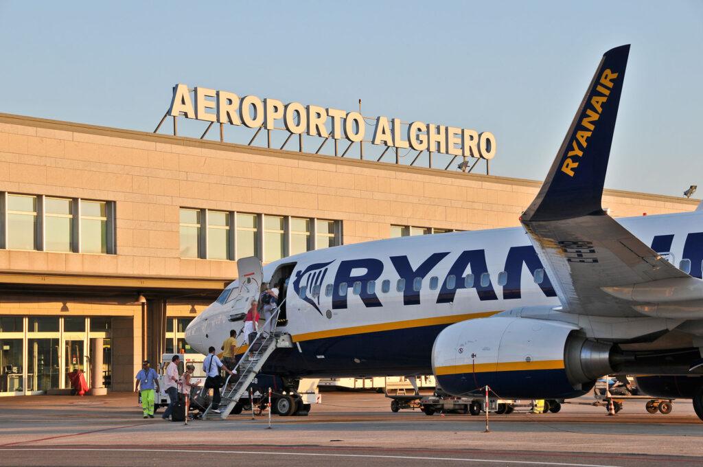 L'operativo di Ryanair per l'estate '21 su Alghero