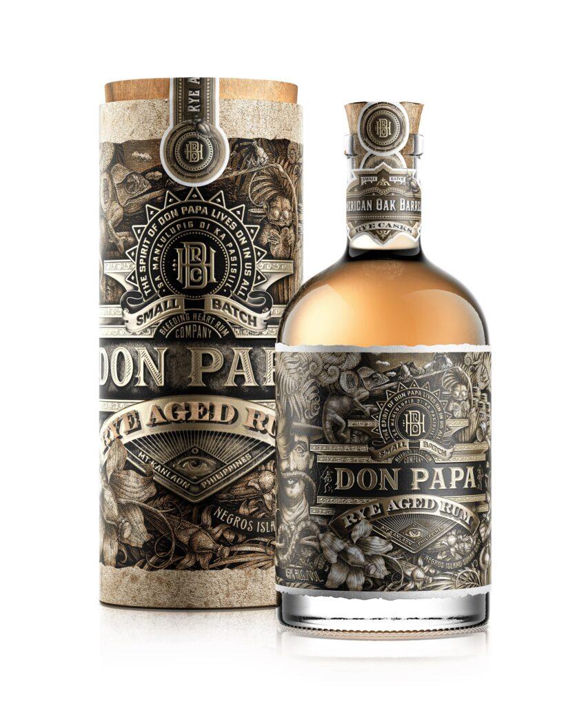 Dalle Filippine Don Papa Rye Aged Rum,