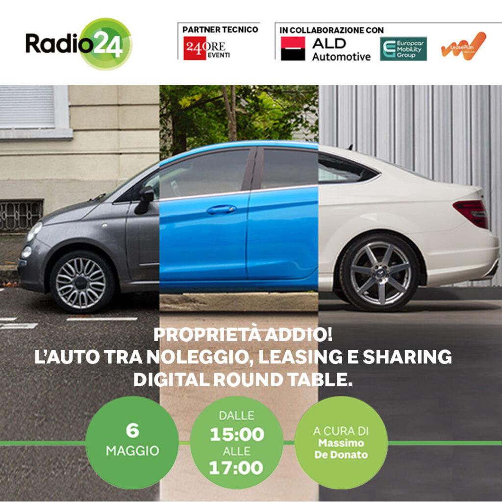 L'auto tra noleggio, leasing e sharing