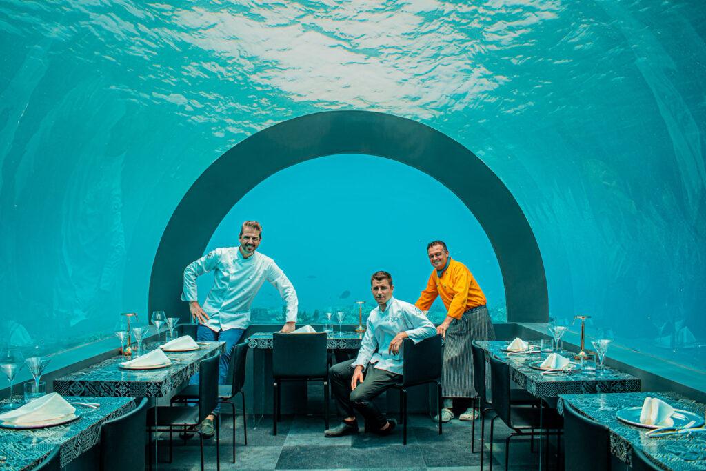 Nuovo ristorante subacqueo