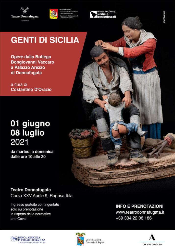 Sicilia in mostra l'Arte dei maestri Figurinai