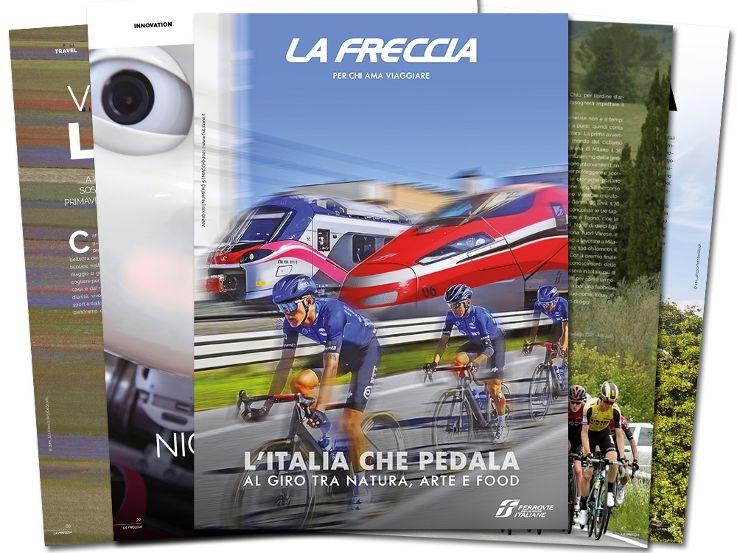 "Con ""La Freccia"" al Giro d'Italia"