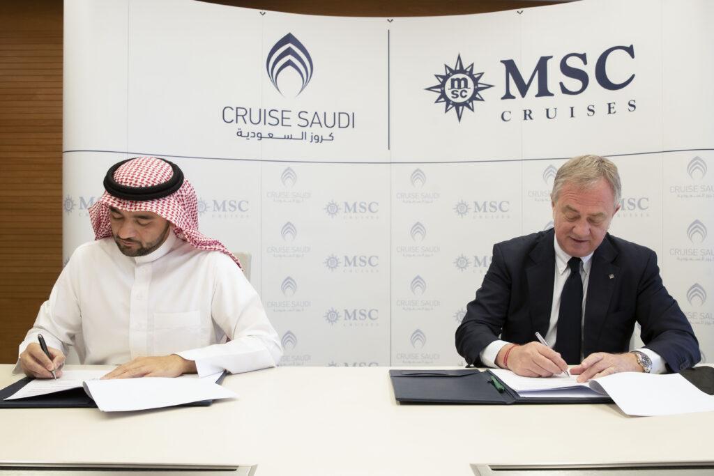 MSC Crociere si espande in Arabia Saudita