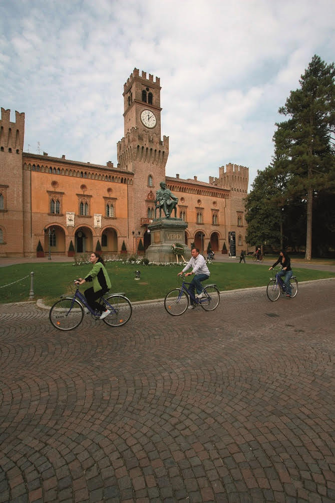 La Food Valley Bike arriva a Busseto