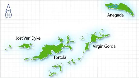 British Virgin Islands con AVIAREPS