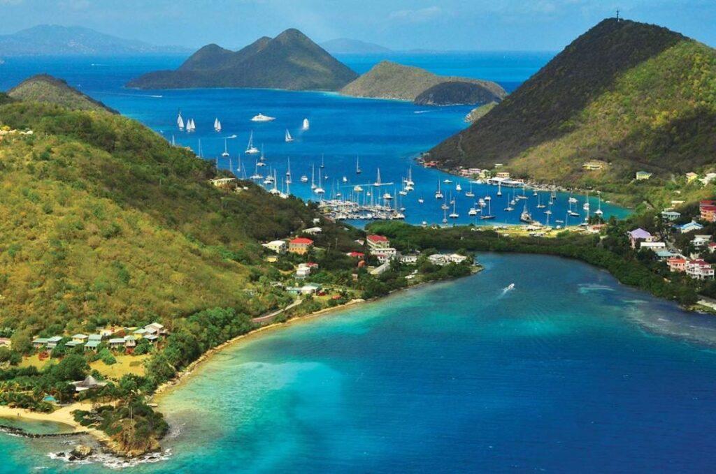 The British Virgin Islands libere da quarantena