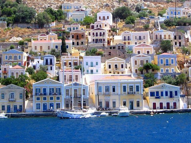 Modello Grecia per le case vacanza