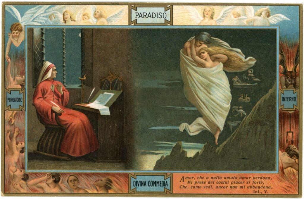 Dante in Cartolina a Torgiano (PG)