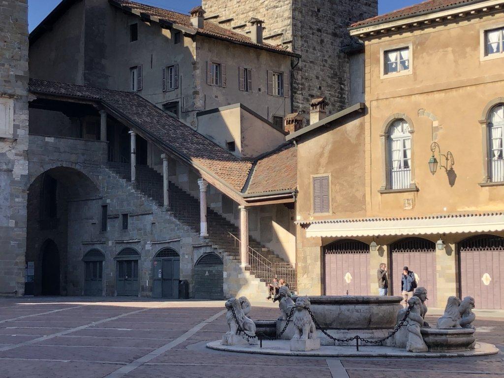 la Fontana Contarini a Bergamo
