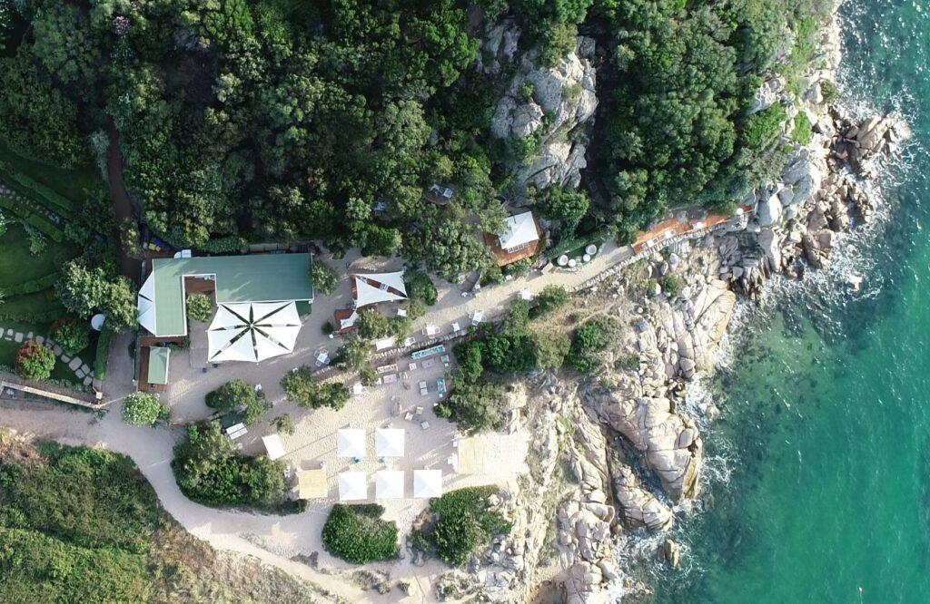 Lunaria Beach natura spettacolare in Costa Smeralda