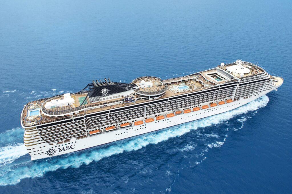 Il Benvenuto dal Porto di Trieste a MSC Crociere,