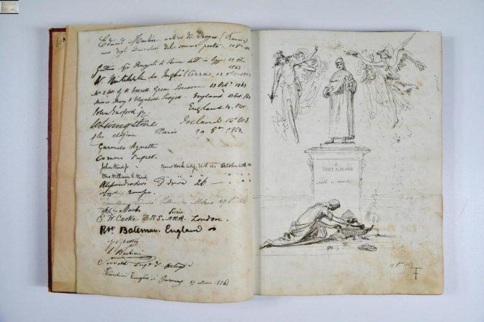 Ravenna dantesca  inedito di Federico Faruffini