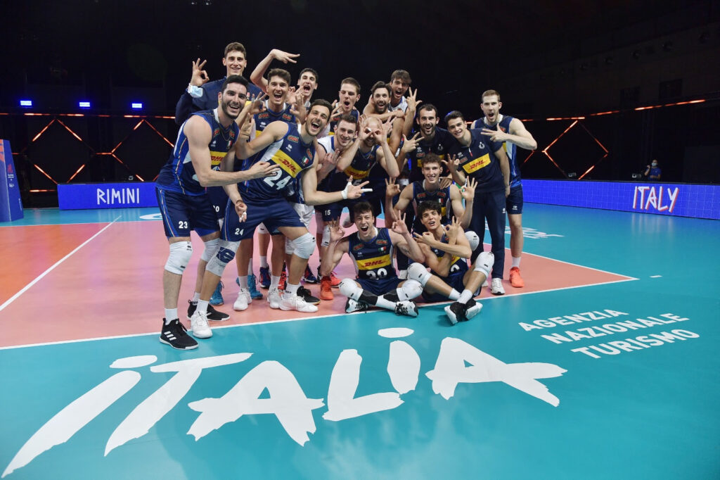 Volleyball Nations League 2021  by ENIT