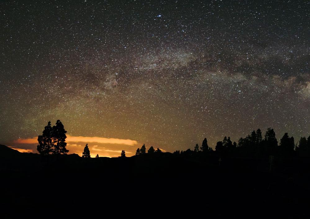 La Palma perfetta per le stelle cadenti a San Lorenzo