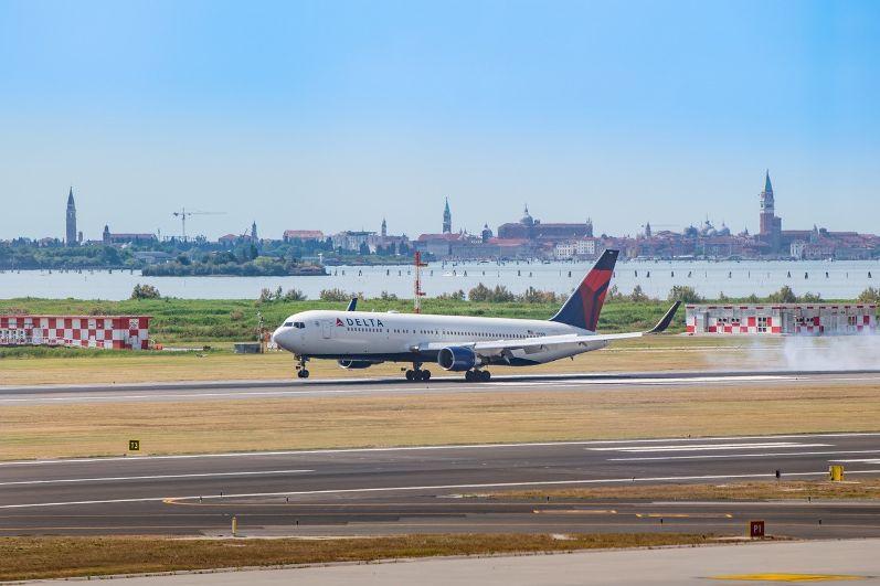 Delta da New York e Atlanta a Venezia