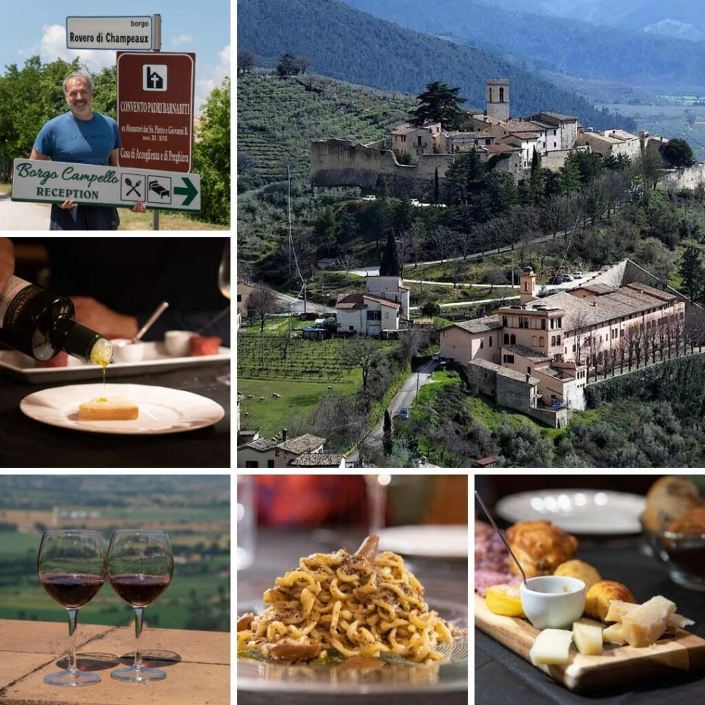 Umbria, estate gourmet in un borgo da favola