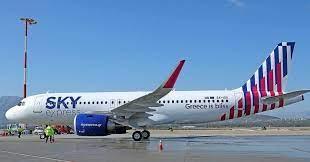 SKY express atterra a Roma