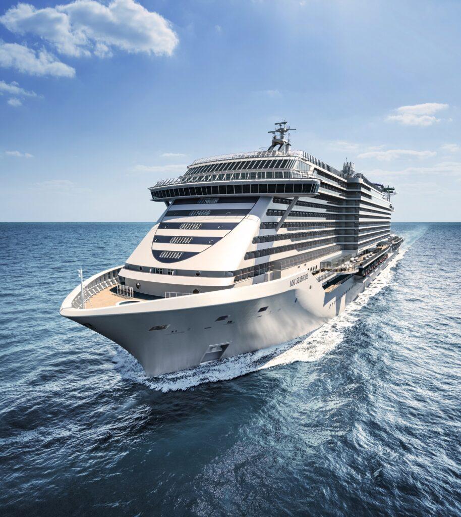 È arrivata oggi a Genova MSC Seashore,