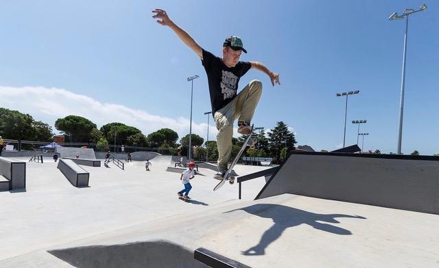 Lignano inaugura il nuovo Skate Park