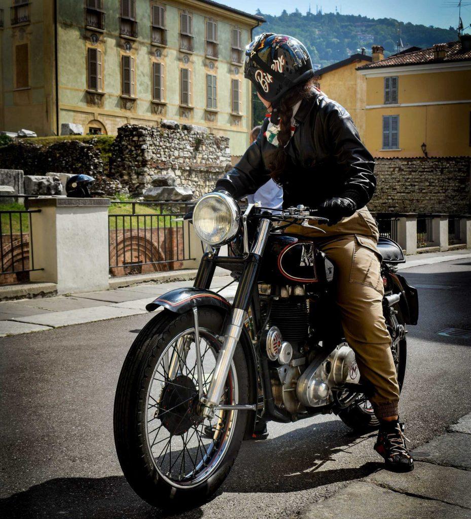 La Brescia-Napoli in Moto d'Epoca