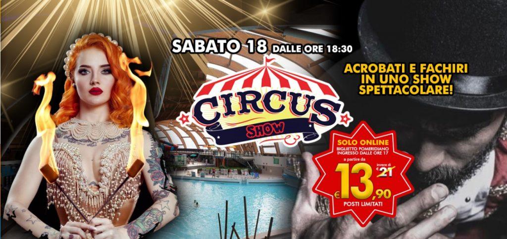 Ad Acquaworld arriva il Circus Show