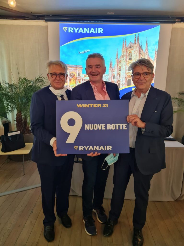 Ryanair lancia operativo invernale Aeroporti di Milano