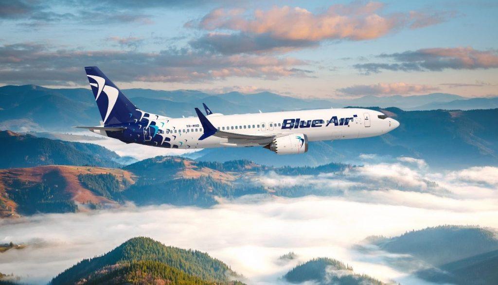 Blue Air celebra l'arrivo del 4° Boeing 737-8 MAX