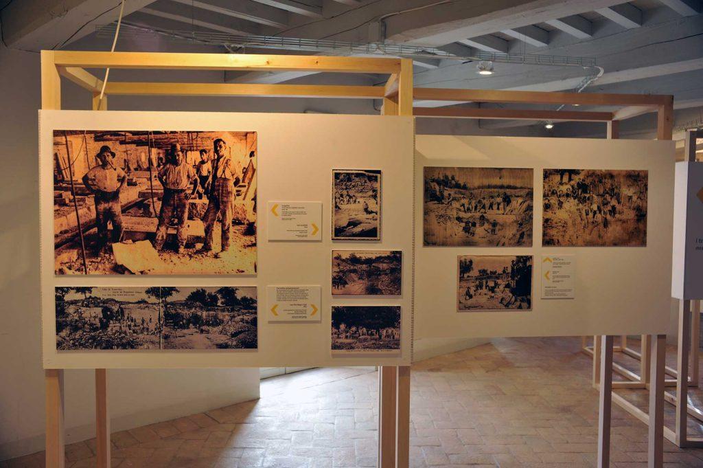 La storia della lavorazione del travertino a Rapolano Terme
