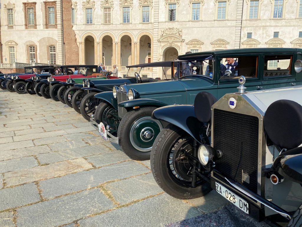 Raduno del centenario per Lancia Lambda