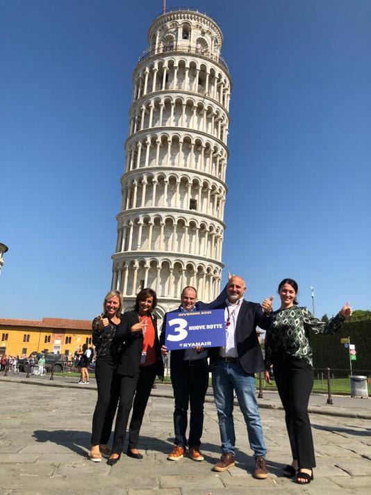 Ryanair Nuove Rotte da Pisa