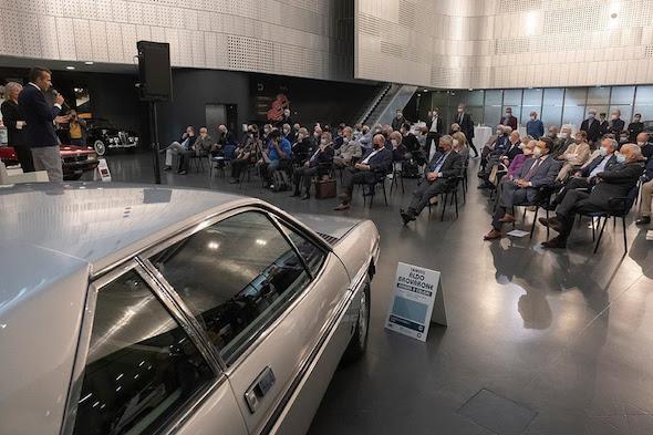 Al Museo dell'Automobile in onore di Aldo Brovarone