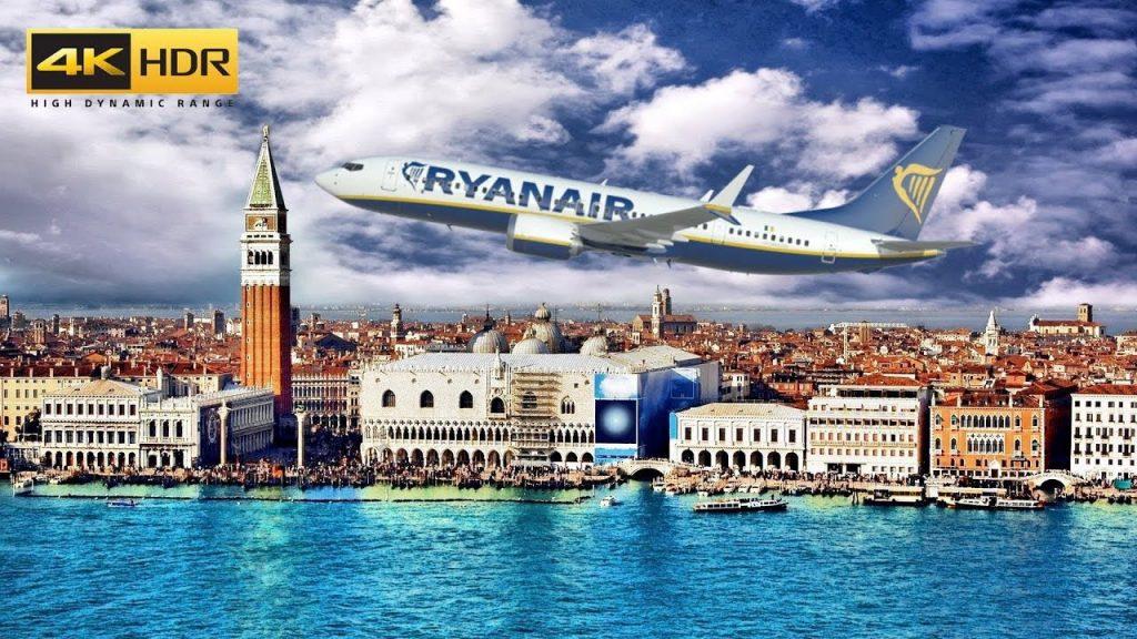 Ryanair apre una nuova base a Venezia