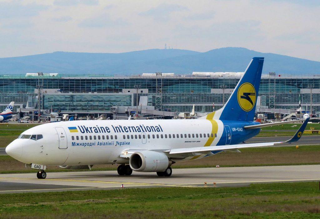 Ukraine International Airlines ripristina i voli su Roma