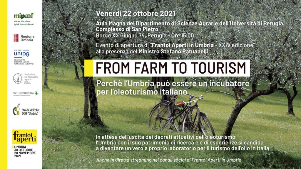 L'Umbria incubatore per l'Oleoturismo in Italia